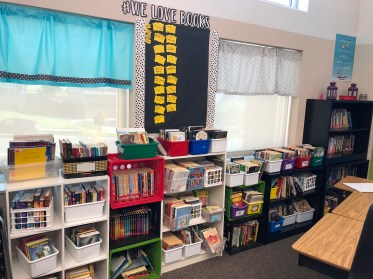Kelly's 5th Grade Classroom Library