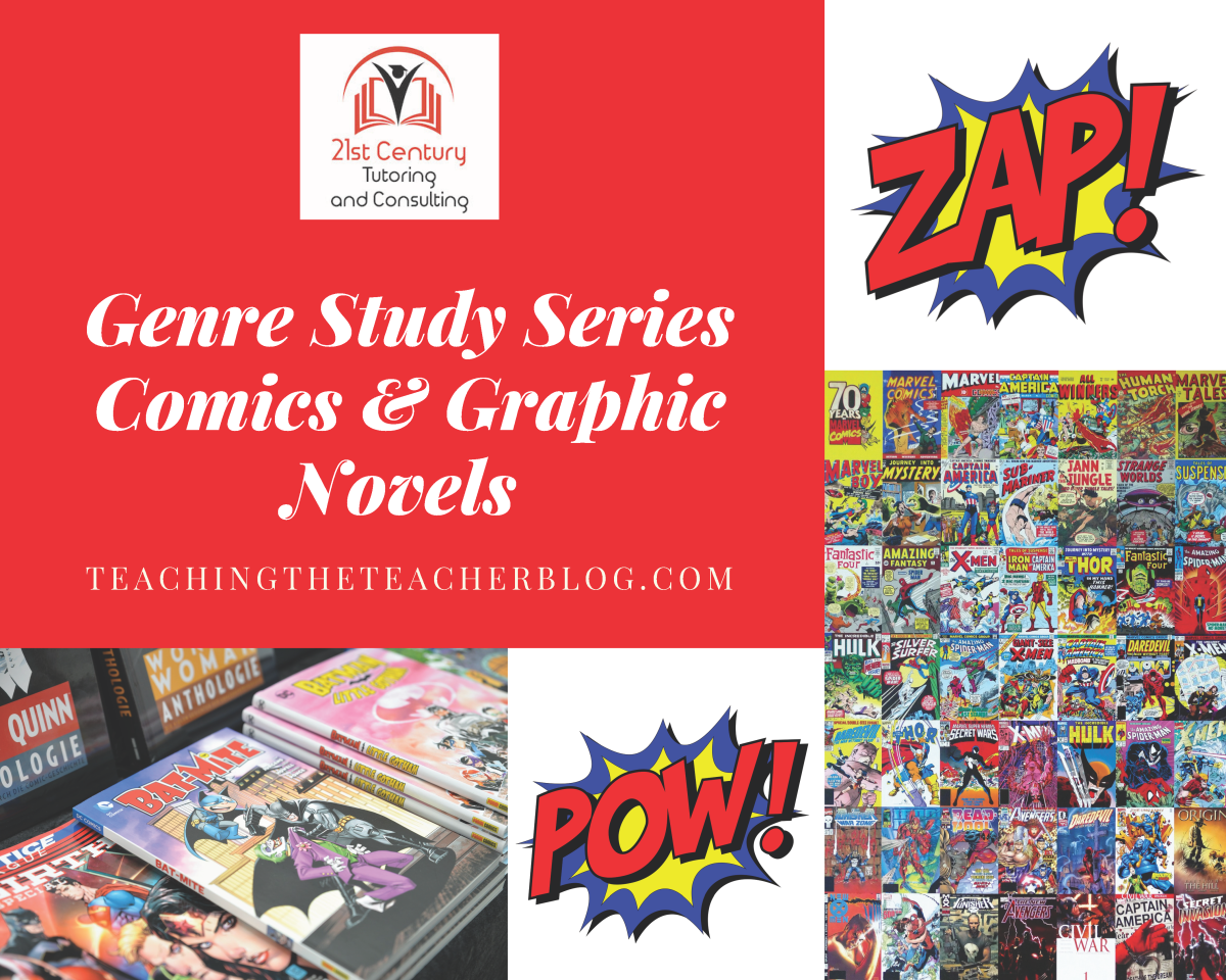 Genre Study: Comic Books & Graphic Novels