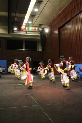 Korean mask dance, performed by Junior School students.