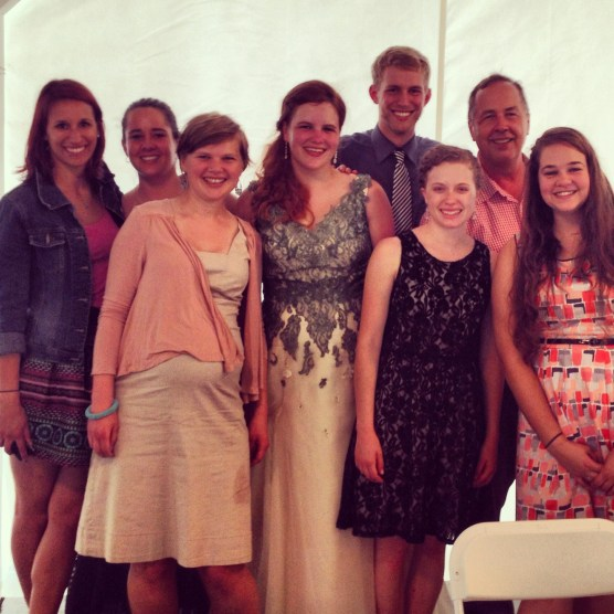 A partial reunion of our teaching class, together at Mary's wedding.