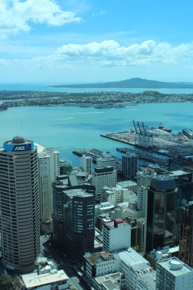 Auckland from up high!