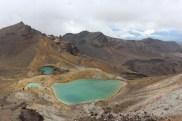 Sulpher Lakes of the Tongariro Alpine Crossing