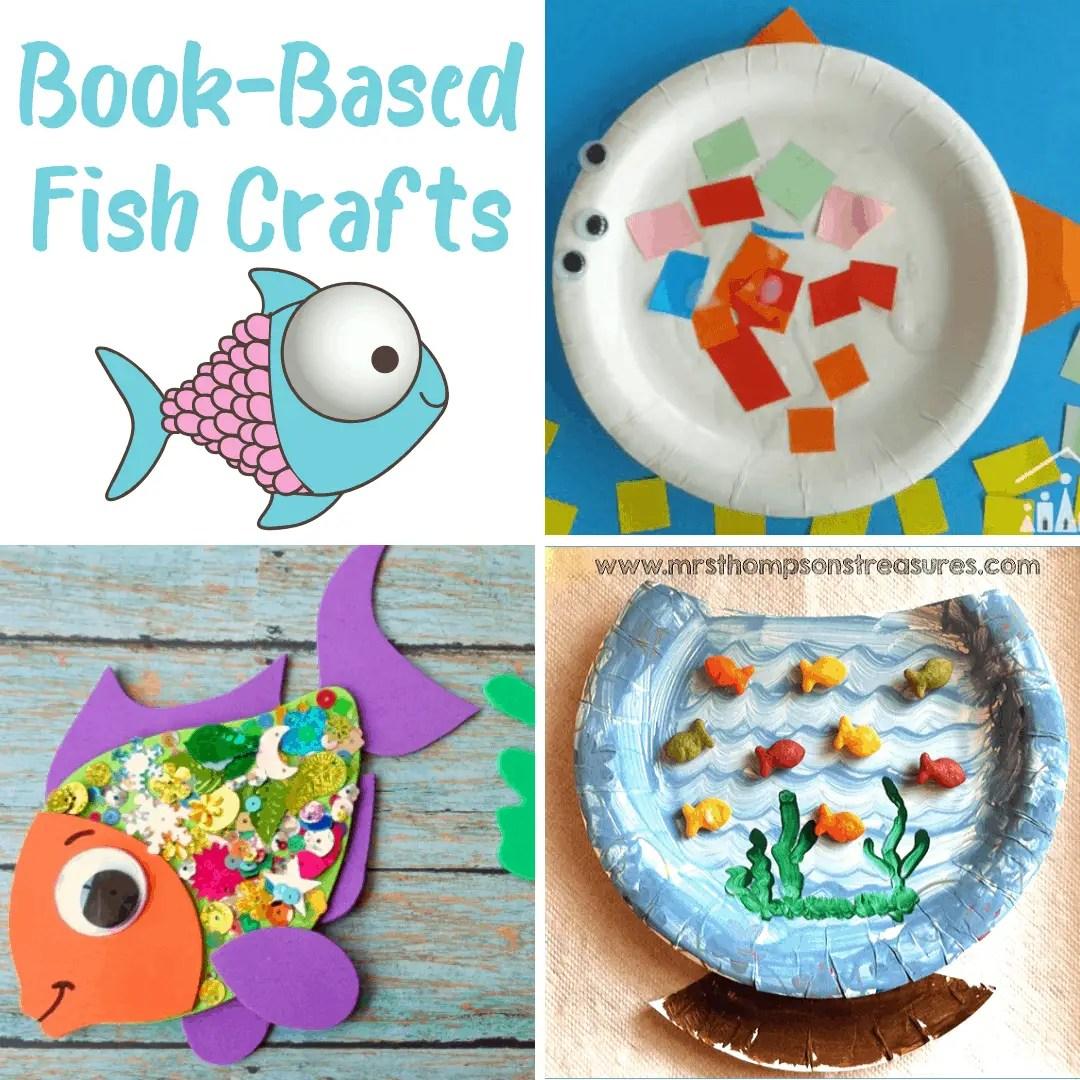 10 Fantastic Book Based Fish Crafts For Kids