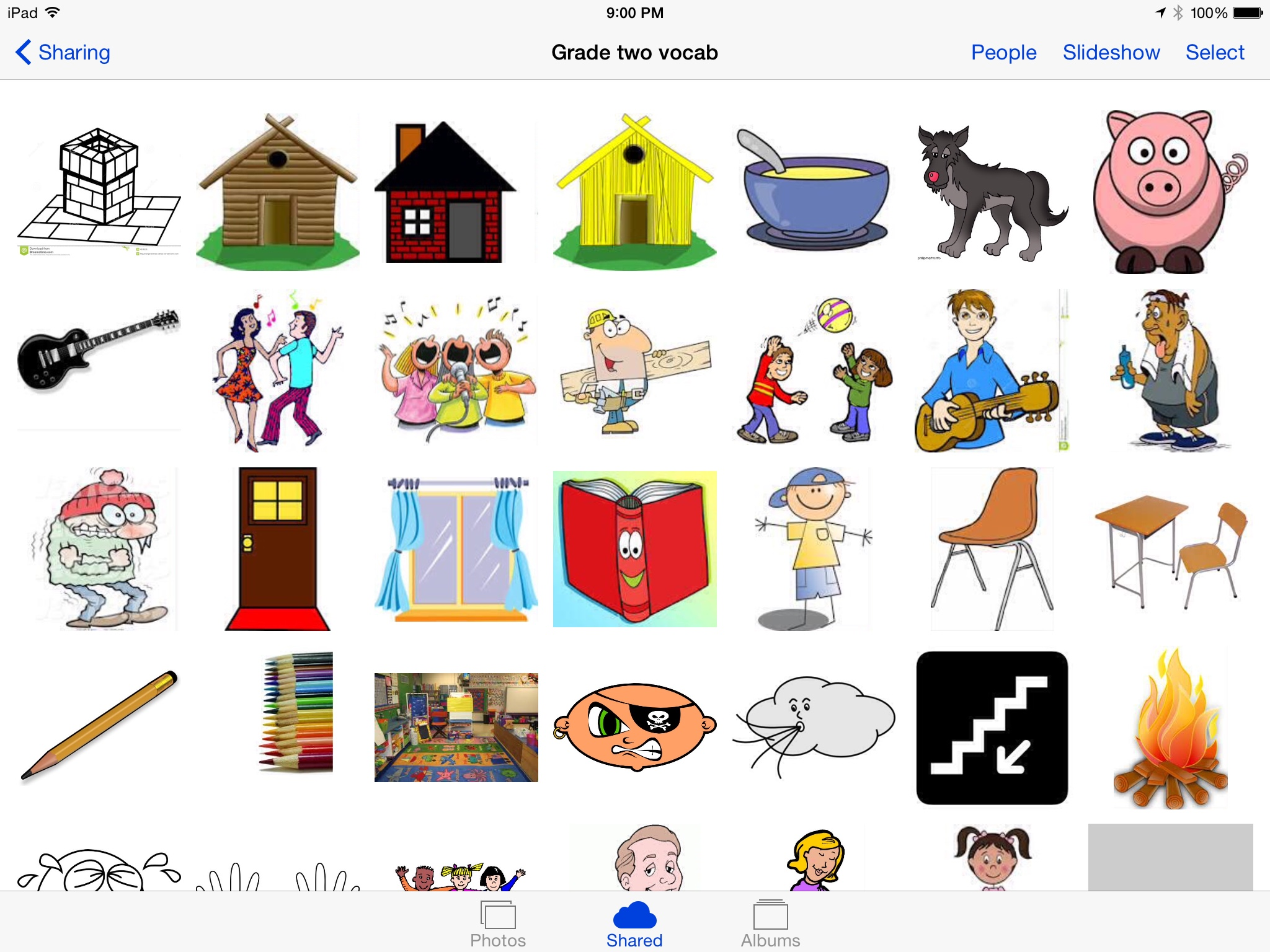 An Effective Visual Vocabulary Ipad Lesson Done In