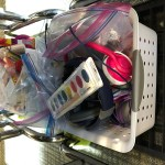 teacher organize baskets