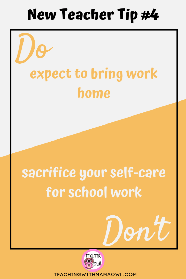 New Teacher Tip #4