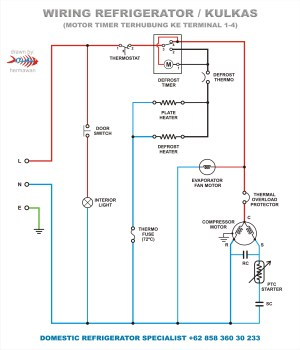 Refrigeration: True Refrigeration Wiring Diagram