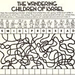 Friend June 1983 - children of Israel in wilderness