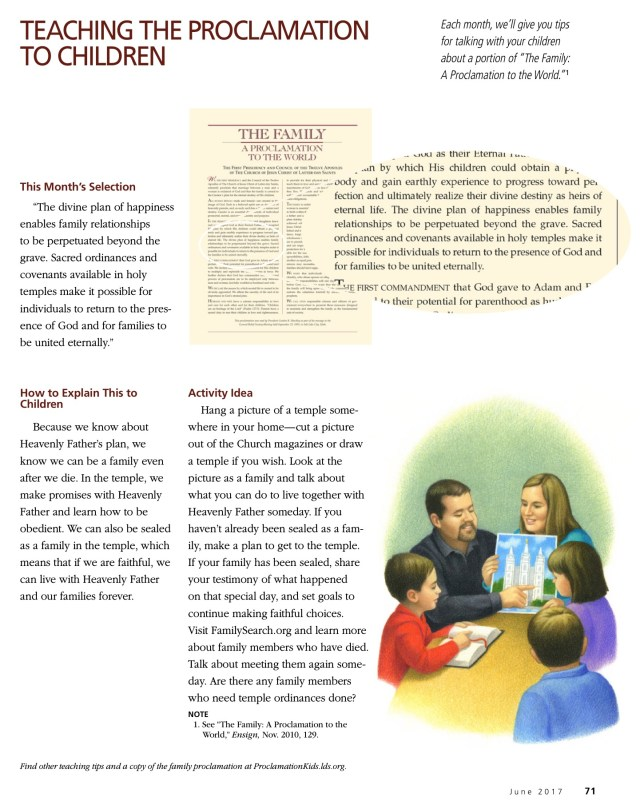 """<a href=""""https://www.lds.org/ensign/2017/06/teaching-the-proclamation-to-children?lang=eng"""">Ensign June 2017</a>"""