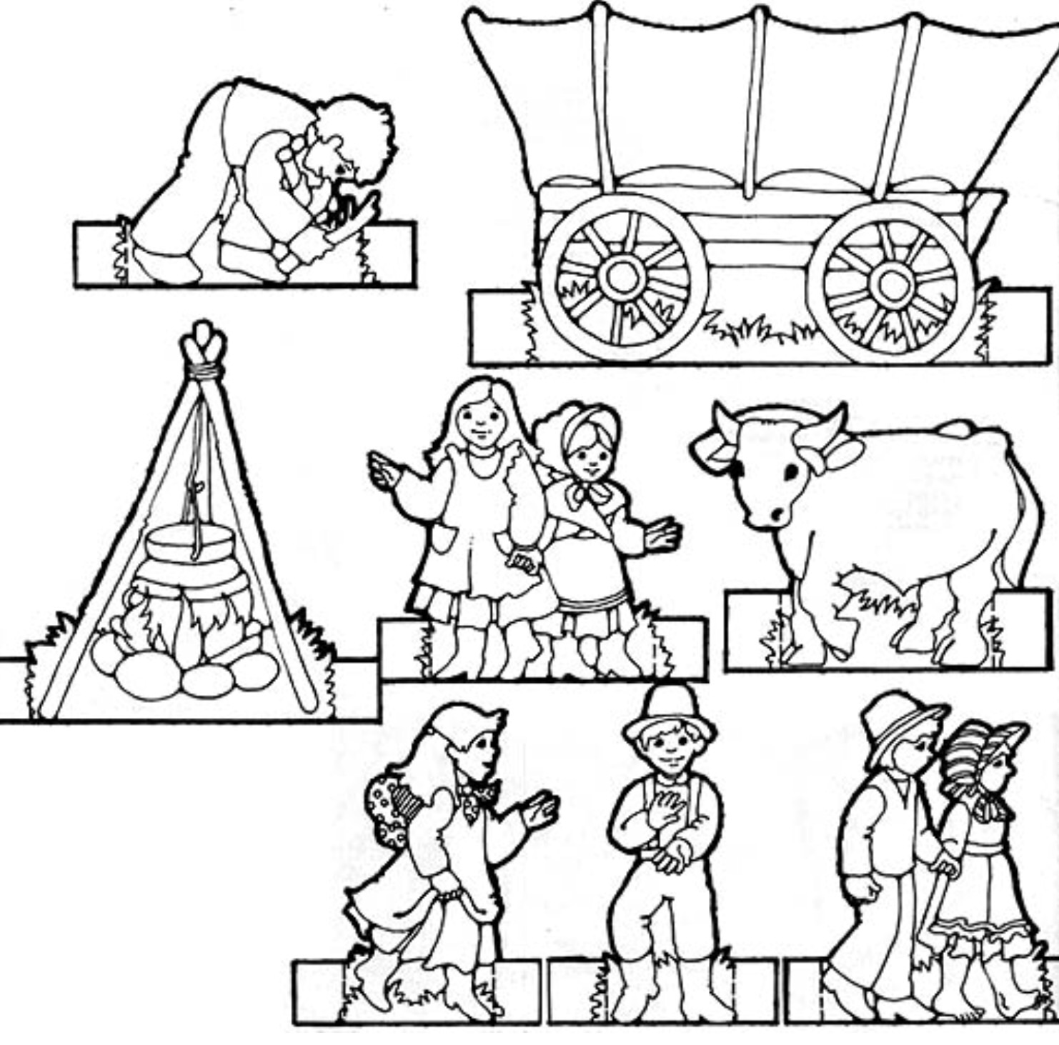 Pioneer Clipart