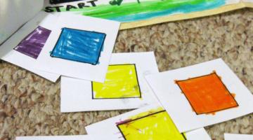 homemade color game   cora's color game   teachmama.com