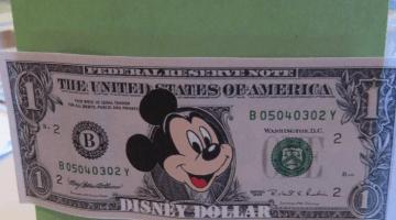 disney dollars: kids earn 'money' for their disney trip