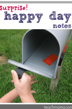 top secret 'happy day' notes for the whole 'hood