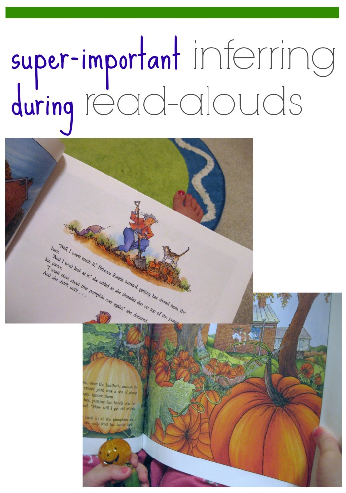 super-important inferring during read-alouds