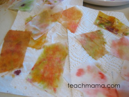 paint with candy   candy experiments