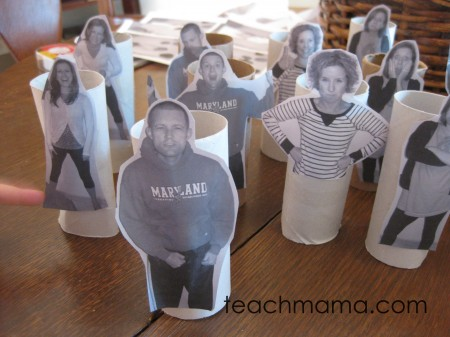 talk to kids about emotions family paper roll dolls
