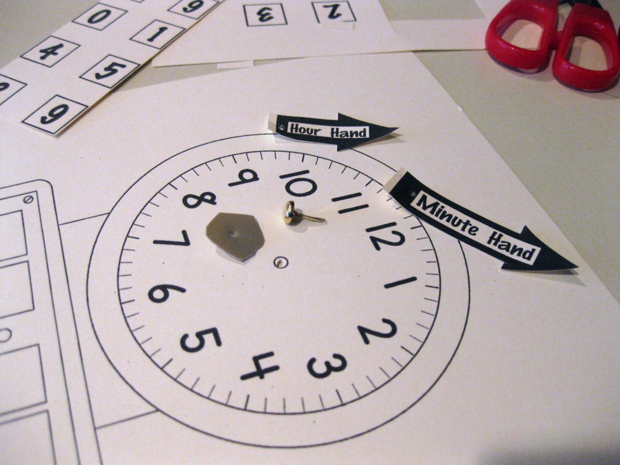 Digital Time Worksheet Printable