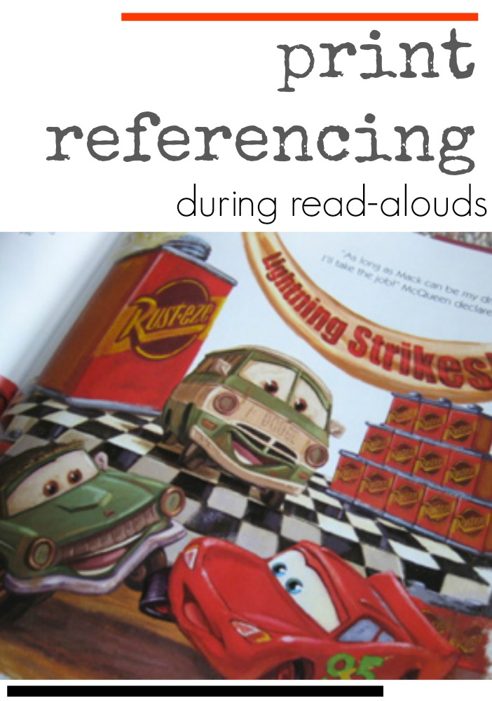 print referencing during read alouds