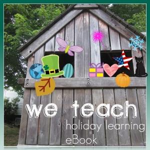 we teach holiday learning eBook