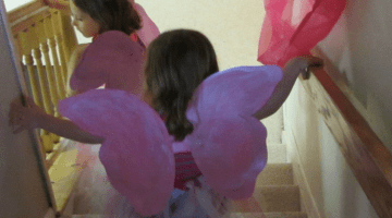 fabulous, at-home fairy princess spa party