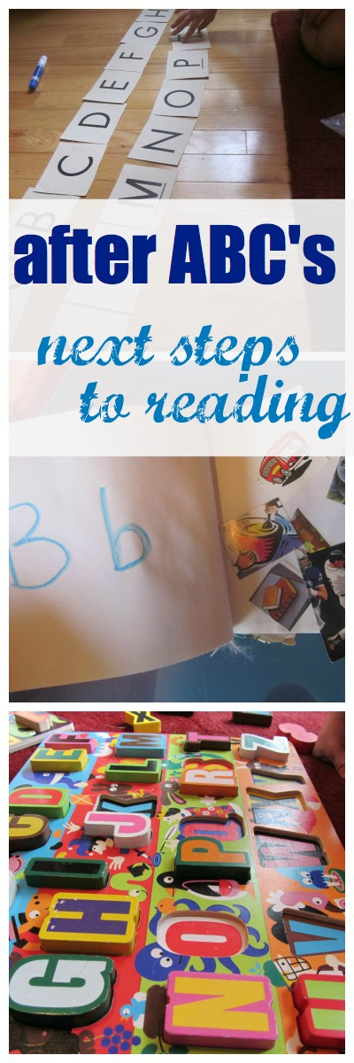 after the ABC's-- next steps to reading