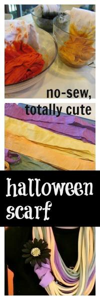 new sew halloween scarf
