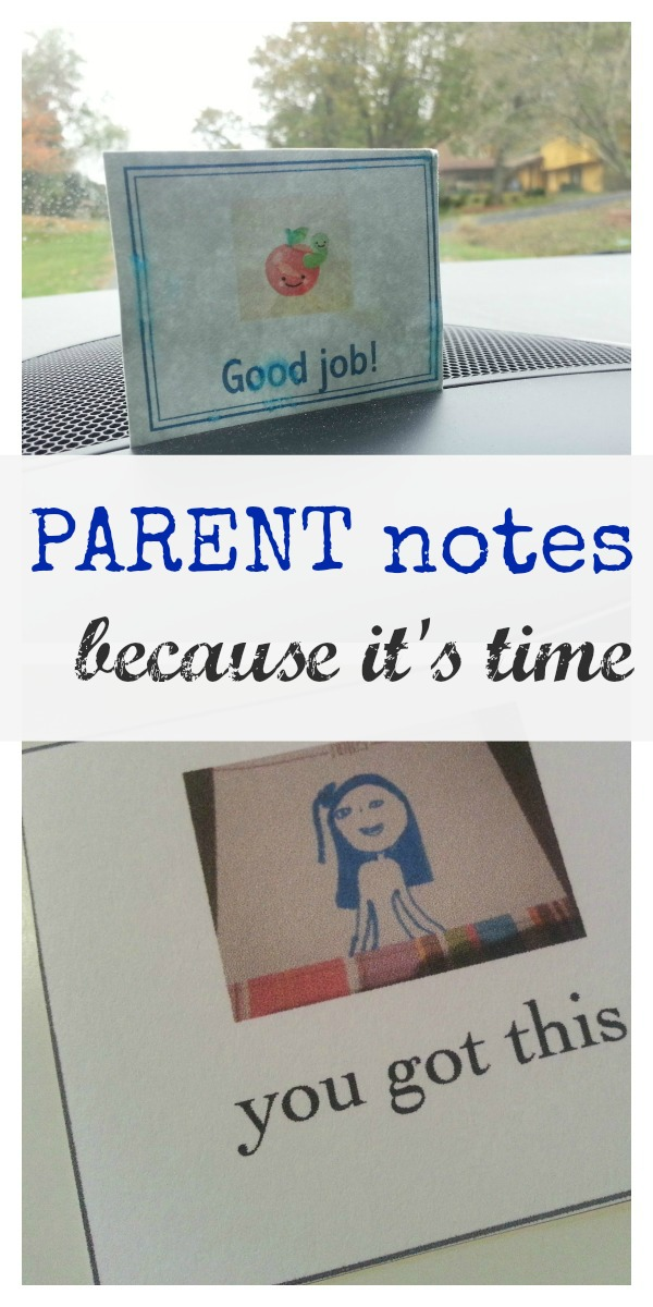 notes for mom (or dad)