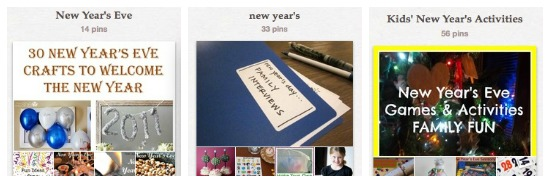 new year's ideas for tradition, organization and family