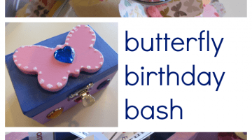 butterfly birthday bash