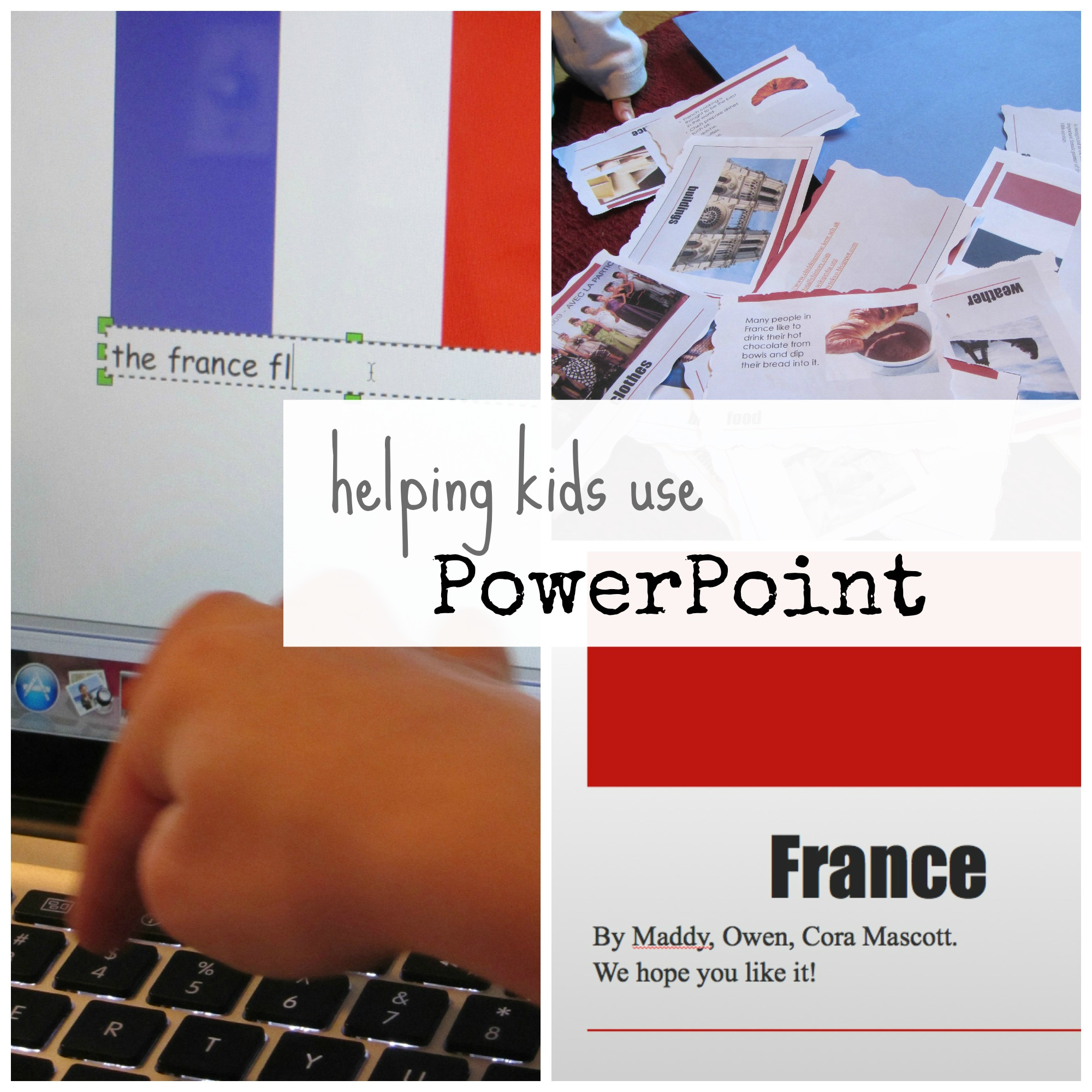 helping kids use powerpoint