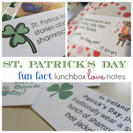 fun fact lunchbox love notes