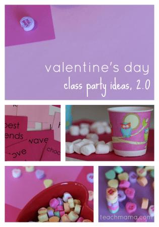 valentine's day class party ideas, 2.0   teachmama.com