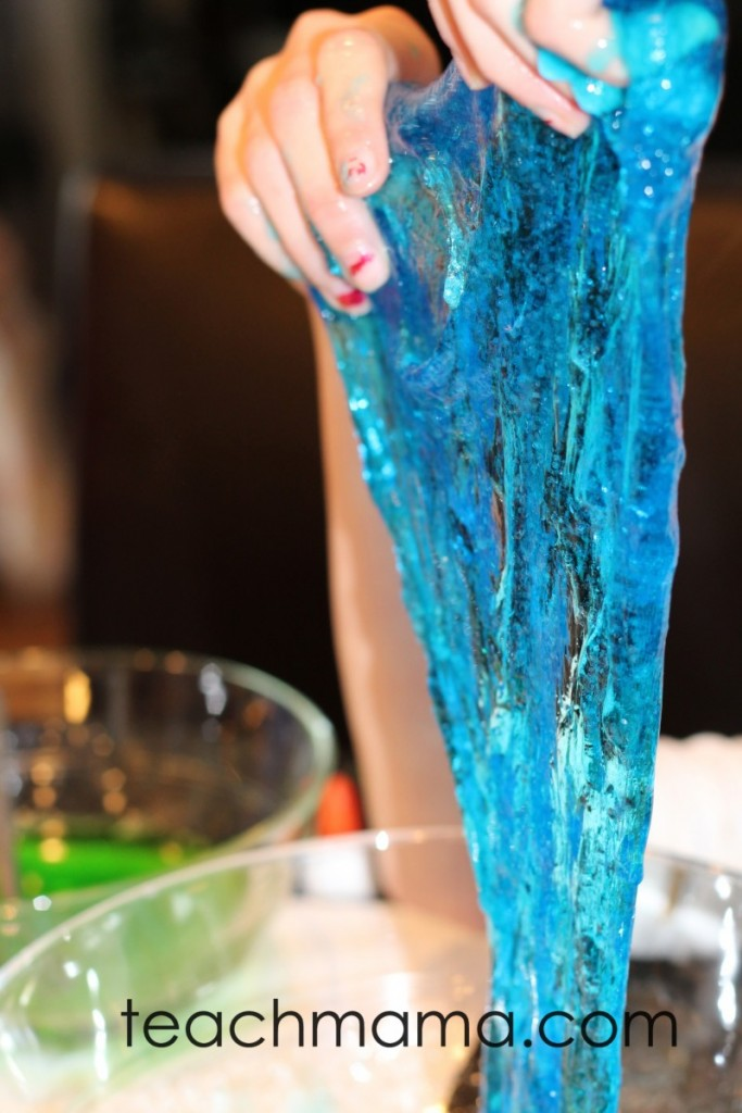 homemade sparkle slime