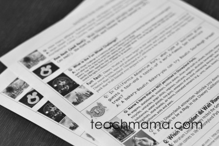 disneyland fun fact lunchbox notes   teachmama.com