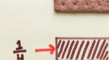 fractions with food