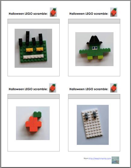 halloween lego game: unplugged, creative fun | teachmama.com
