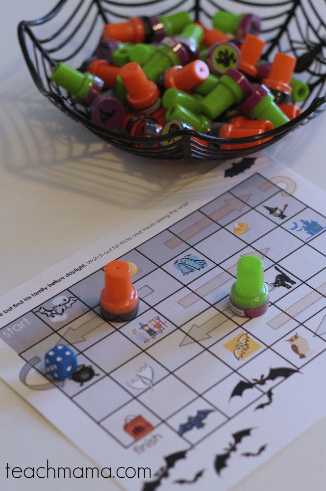 halloween printable games for kids