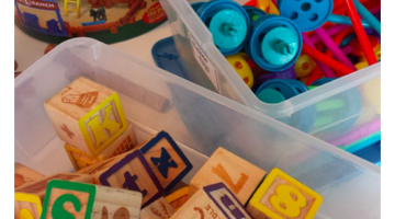 fun summertime learning for kids: tabletop surprises