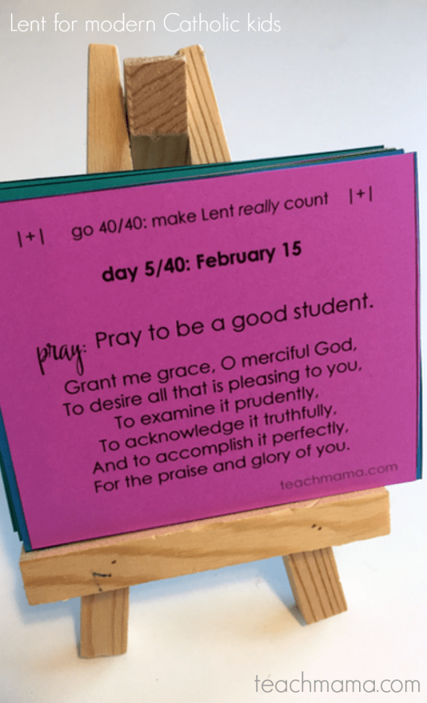 lent for modern catholic kids | teachmama.com