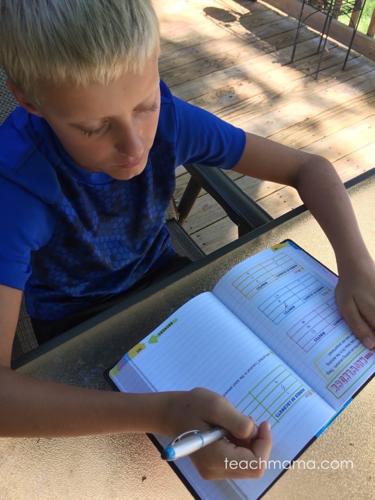 big fat notebook middle school study guide