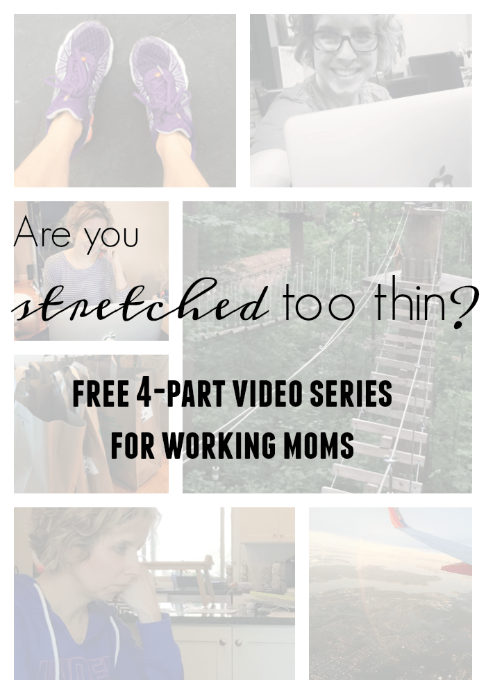 stretched too thin | video for working moms | teachmama.com