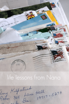 life lessons from nana