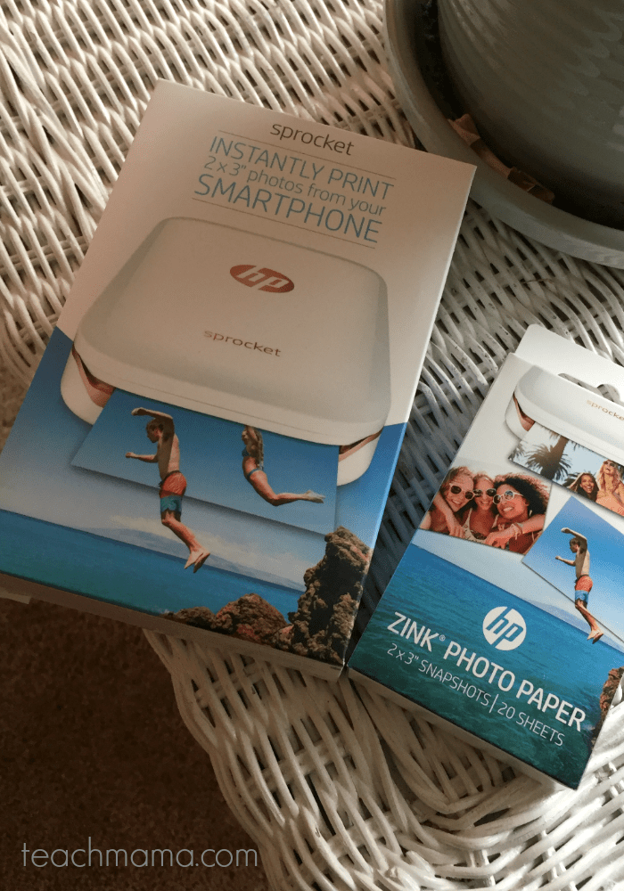 must have tech gift for families--HP Sprocket || 12 days of smart gifts for kids & family