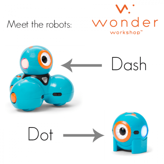 read and bring STEM to life with Dash and Dot robots meet robots   teachmama.com
