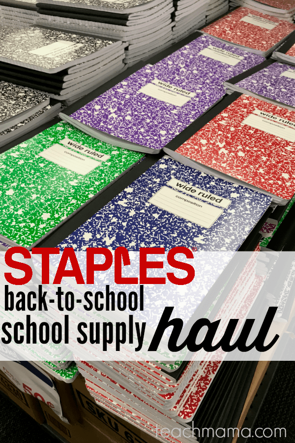 back-to-school deals at staples that families don't want to miss | teachmama.com