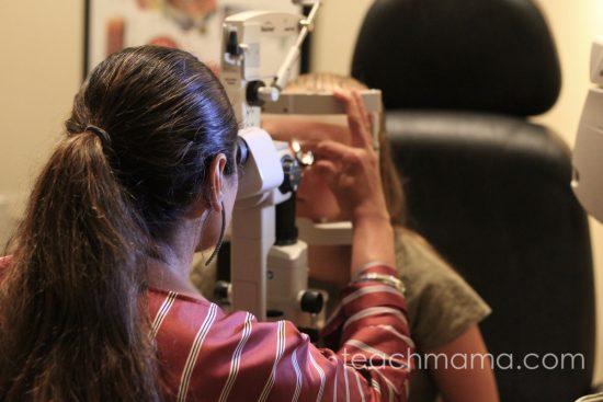back to school eye exam | teachmama.com