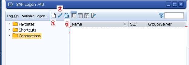 SAP GUI ADD SYSTEM