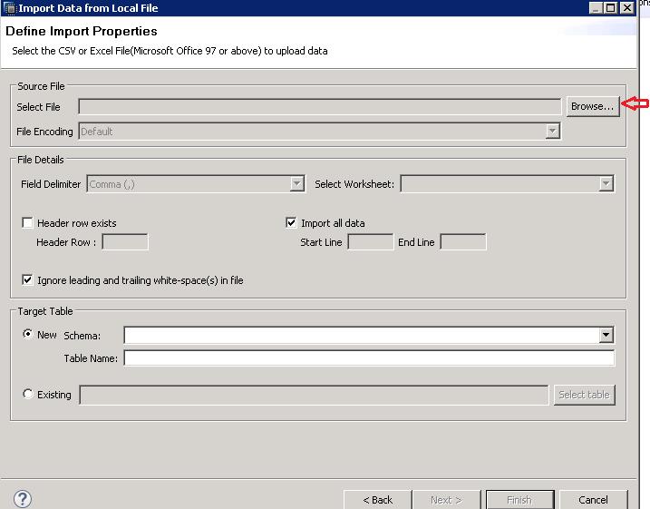 SAP HANA FLAT FILE UPLOAD CSV UPLOAD TO SAP HANA
