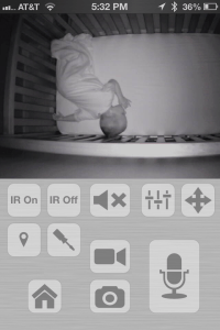 Best Audio-Video Baby Monitor for under $75 using your iPhone, iPad (Mini), or iPod Touch and Foscam Camera + App