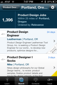 the app that helps you find a job and get hired